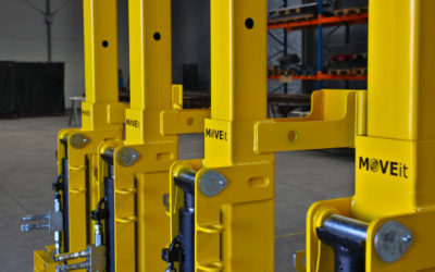 Container lifting jacks are leaving for Russia