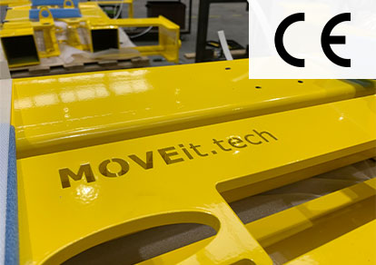 MOVEit.tech logo on lifting jack construction